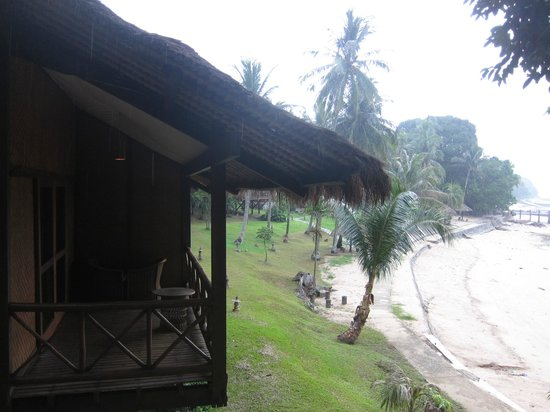 Turi Beach Resort: beach view fr balcony