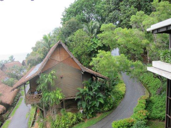 Turi Beach Resort: view fr lobby