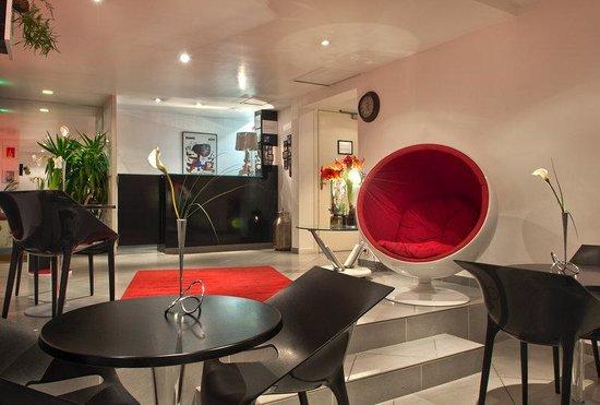 Hotel D'angleterre Etoile : Bar