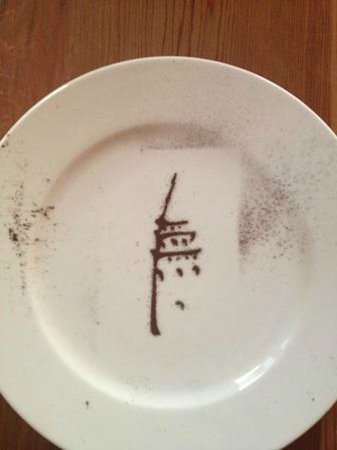 Adahan Istanbul: tower art on your plate