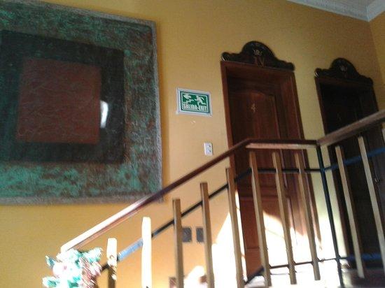Hotel La Cartuja: al segundo piso