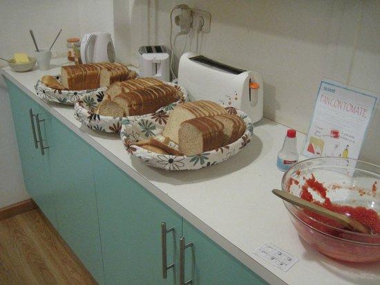 The Hipstel:                   breakfast                 