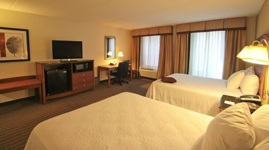 Hampton Inn Hampton-Newport News: Queen Room