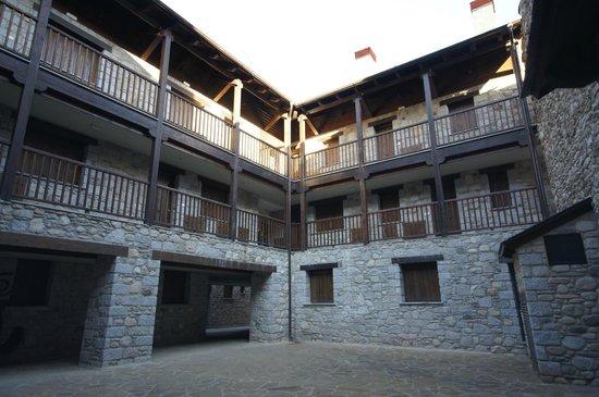 Apartamentos Los Huertos: Patio apartamento 3 dormitorios.