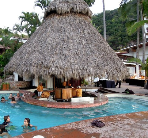 Hyatt Ziva Puerto Vallarta:                   MARLIN SWIM-UP BAR