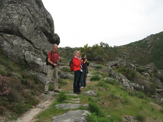 Northern Portugal, Portugal:                   Wandelen in natuurgebied