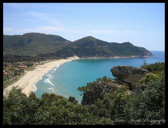 Sa Guardia de Ferricci: spiaggia Solanas