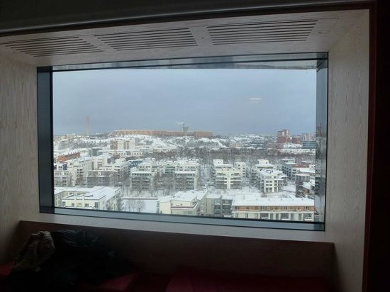 Park Inn by Radisson Stockholm Hammarby Sjostad: Shot from our room on 14th floor