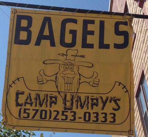 Camp Umpy's Bagels & Stuff: Camp Umpy's