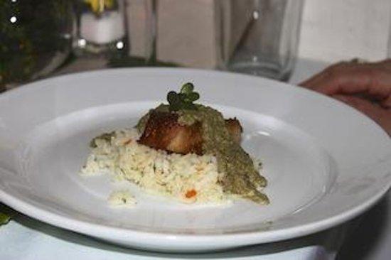 Cafe Juanita: Pork Loin with Green Mole