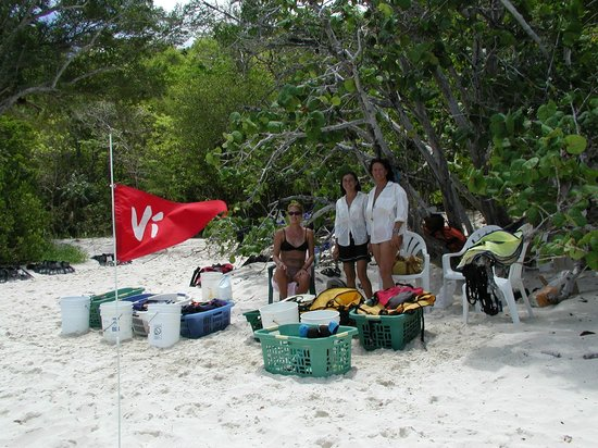 Snorkel Gear Extrodinaire For Tropic Tours' guests on St John