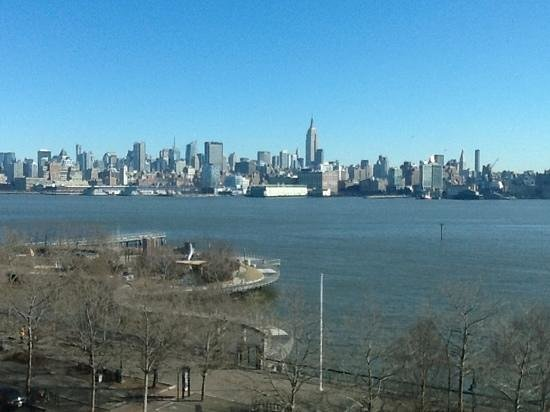 view from room a W Hoboken