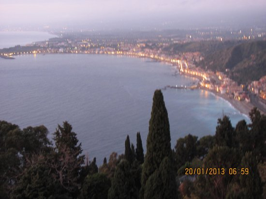 Hotel Villa Belvedere: Taormina Studio-Flat; part of the view