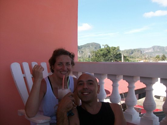 Villa Los Pandaderos: Con maria en viñales