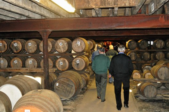 The GlenDronach Distillery: Store of Whisky in barrels