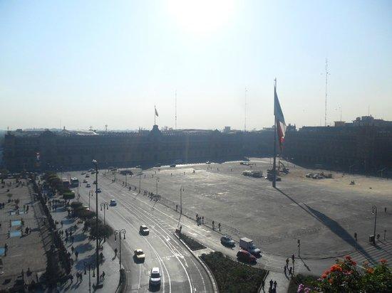 Zocalo Central: Vista desde la Terraza al Zocalo