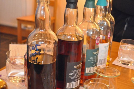 The GlenDronach Distillery: Our tasting selection
