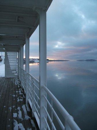 Hotel Rimouski: Promenade de la mer à Rimouski