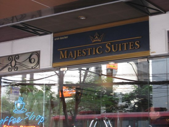 Majestic Suites: from street