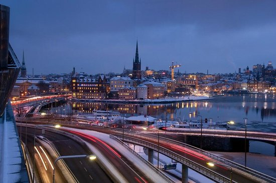 Radisson Blu Waterfront Hotel : Room view of Gamla Stan