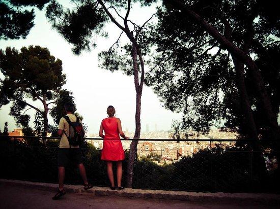 360 Running Barcelona: Park Güell's view