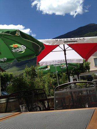 Hotel-Restaurant du Stand: Terrasse