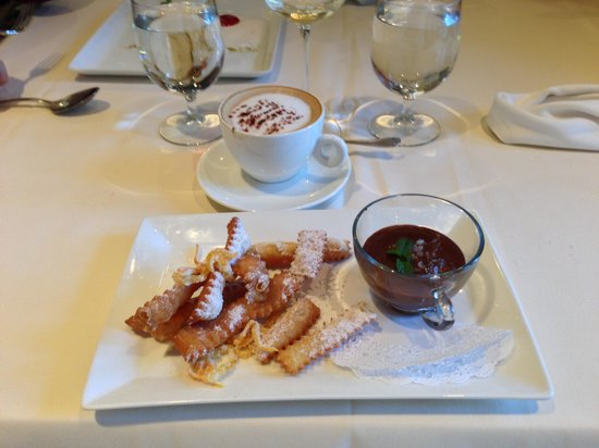 Palladio Restaurant: Dessert...chocolate soup