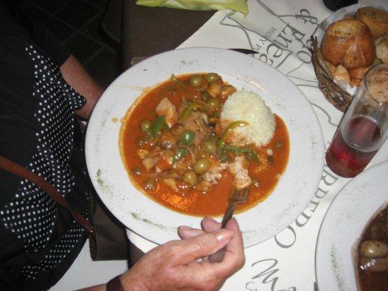 Meal at La Tramoya