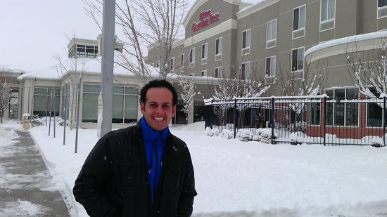 Hilton Garden Inn Salt Lake City/Layton: freezing!!