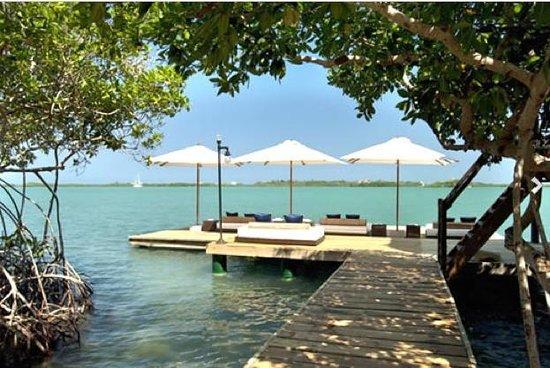 Agua Bed & Breakfast - Baru Island: Muelle
