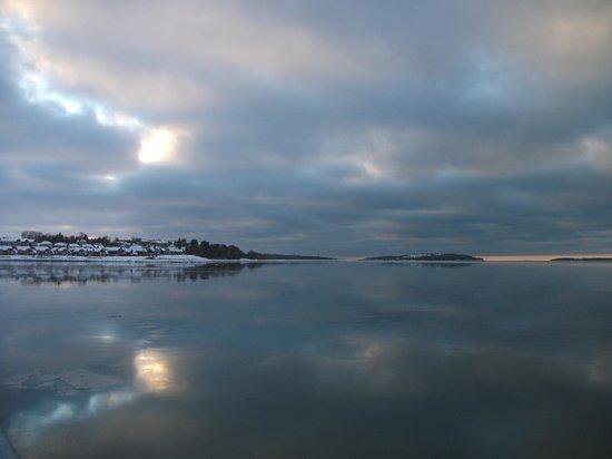 Bureau d'Information Touristique de Rimouski : Le fleuve St-Laurent