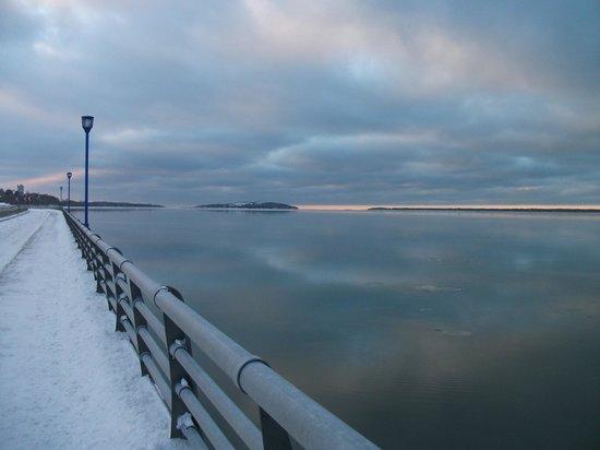 Bureau d'Information Touristique de Rimouski : Promenade de la mer