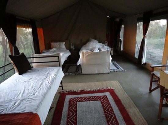 Olakira Camp, Asilia Africa:                   The Family Tent