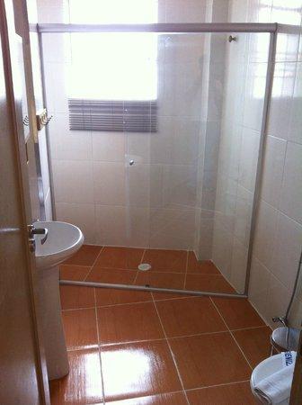 Terra Nobre Plaza Hotel:                   banheiro