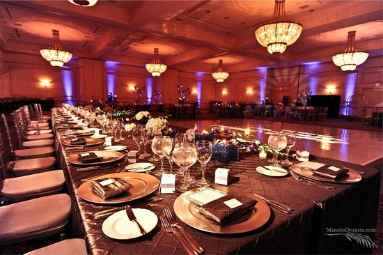 Jw Marriott Miami Grand Ballroom Wedding