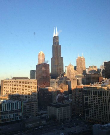 Hilton Chicago:                   City View