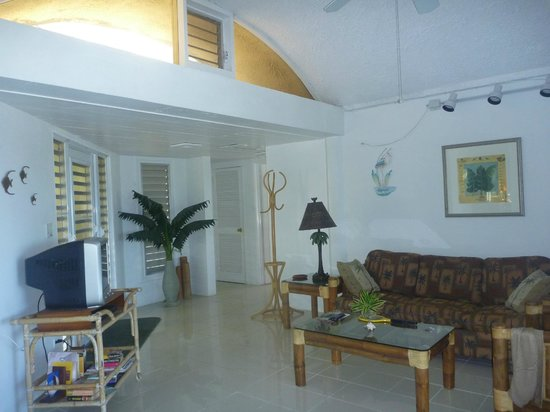 Star Villas:                   view of livingroom - Star Villa                 