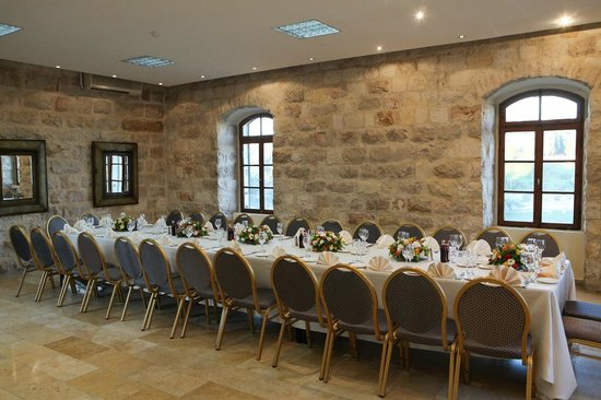 Mount Zion Hotel:                   King David dining room - great for parties / simchas