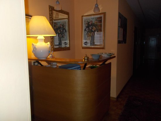 Hotel Leopolda: hall