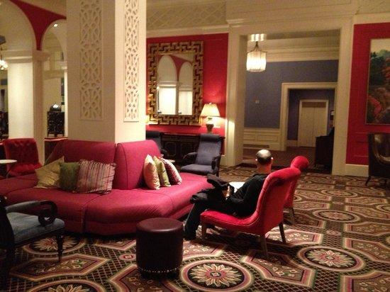 Kimpton Hotel Monaco Portland: Sitting s