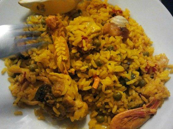 Restaurante Alcazar : paella