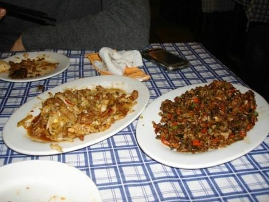 ShangHai DiShuiDong (MaoMing South Road): piatto