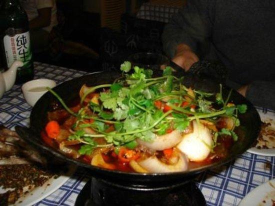ShangHai DiShuiDong (MaoMing South Road): verdure all' Hunan