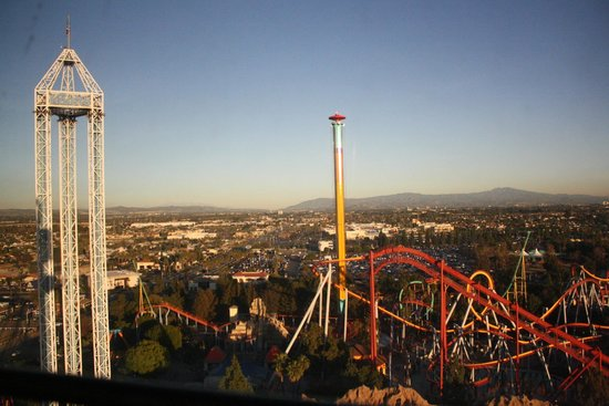 Knott's Berry Farm: View from the Sky Cabin
