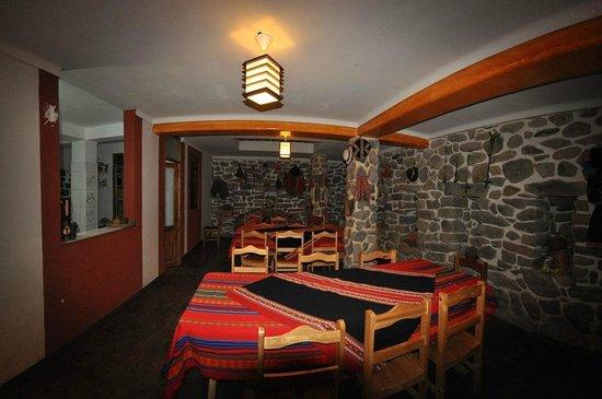 K'uychi Punku Hostal:                   Restaurante