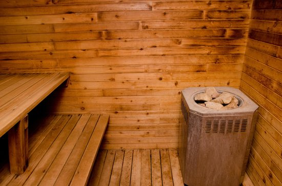 Swiss Village Inn: Sauna