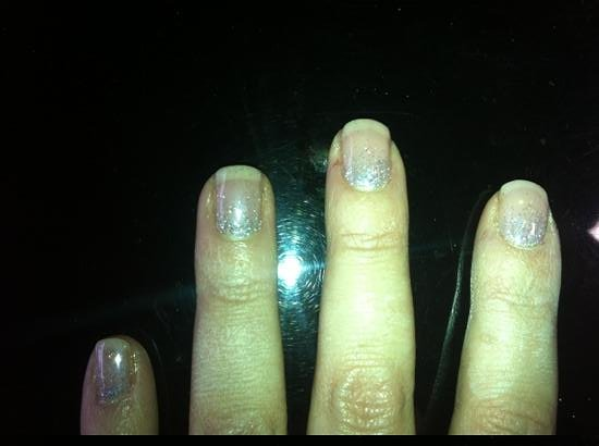 Shoals For Soles:                   sparkly shellac