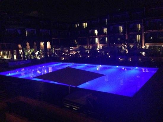 Hotel & Ryads Barriere Le Naoura Marrakech: vue balcon deluxe