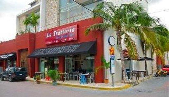 La Trattoria: here we are....