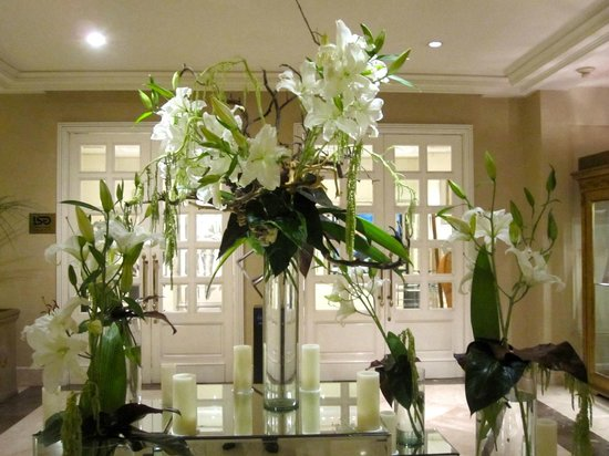 Four Seasons Hotel Mexico City: Flower decoration